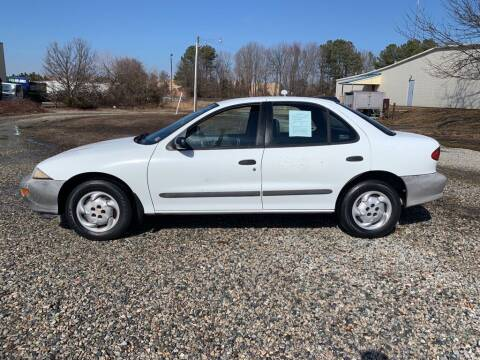 1996 Chevrolet Cavalier for sale at MEEK MOTORS in North Chesterfield VA