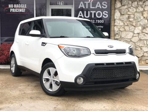 2016 Kia Soul for sale at ATLAS AUTOS in Marietta GA