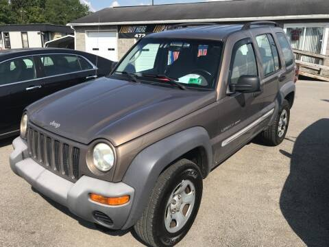 2002 Jeep Liberty for sale at RACEN AUTO SALES LLC in Buckhannon WV