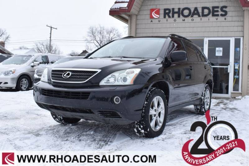 2006 Lexus RX 400h for sale at Rhoades Automotive in Columbia City IN