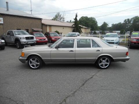 1987 Mercedes-Benz 420-Class for sale at All Cars and Trucks in Buena NJ