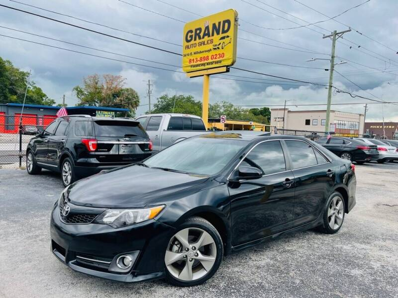 2014 Toyota Camry for sale at Grand Auto Sales in Tampa FL