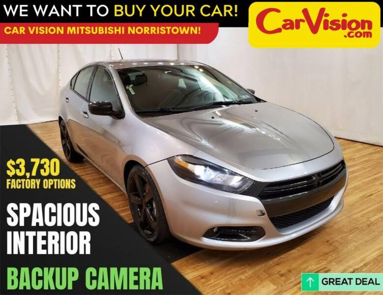 2016 Dodge Dart for sale at Car Vision Mitsubishi Norristown in Trooper PA