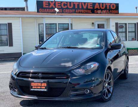 2013 Dodge Dart for sale at Executive Auto in Winchester VA