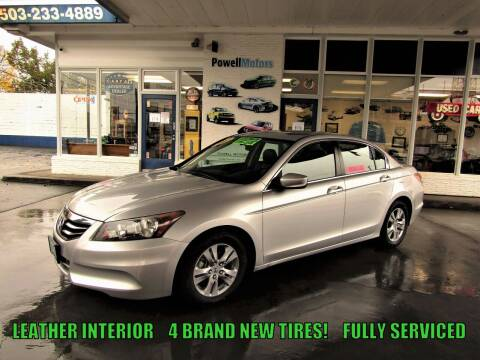 2012 Honda Accord for sale at Powell Motors Inc in Portland OR
