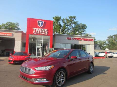2017 Ford Fusion for sale at Twins Auto Sales Inc in Detroit MI