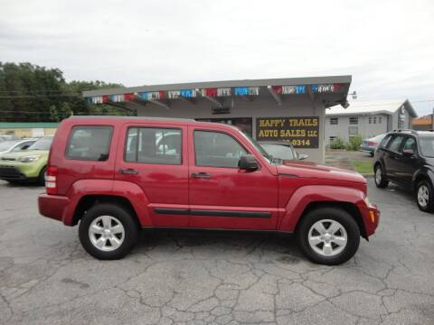 2012 Jeep Liberty for sale at HAPPY TRAILS AUTO SALES LLC in Taylors SC