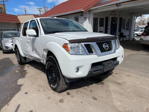 2017 Nissan Frontier for sale at STS Automotive in Denver CO