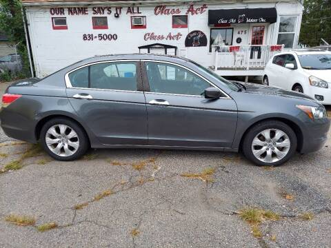 2008 Honda Accord for sale at Class Act Motors Inc in Providence RI