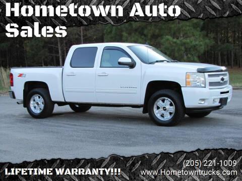 2010 Chevrolet Silverado 1500 for sale at Hometown Auto Sales - Trucks in Jasper AL