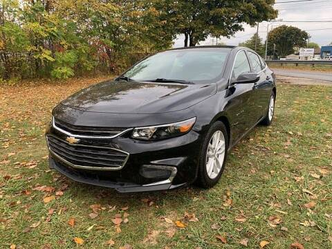 2017 Chevrolet Malibu for sale at CItywide Auto Credit in Oregon OH