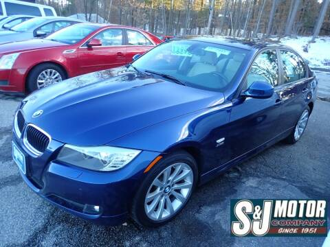 2011 BMW 3 Series for sale at S & J Motor Co Inc. in Merrimack NH