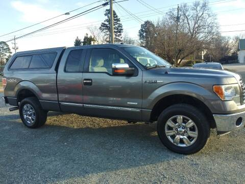 2011 Ford F-150 for sale at Maxx Used Cars in Pittsboro NC
