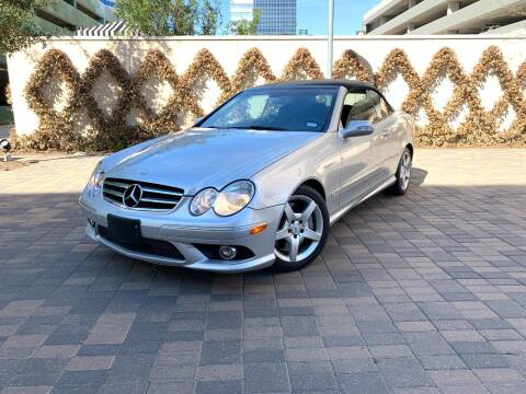 2007 Mercedes-Benz CLK for sale at ROGERS MOTORCARS in Houston TX