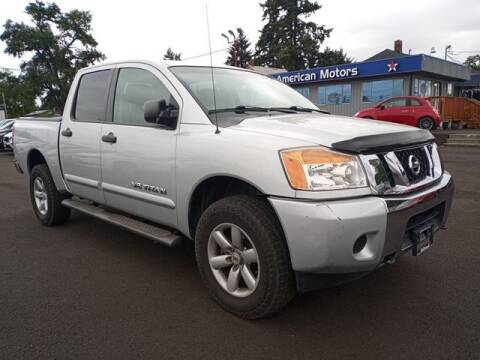 2013 Nissan Titan for sale at All American Motors in Tacoma WA