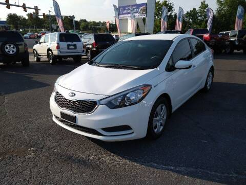 2016 Kia Forte for sale at P J McCafferty Inc in Langhorne PA