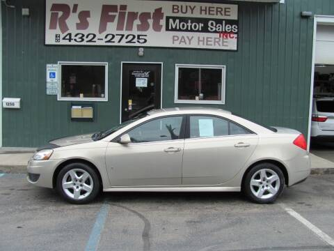 2009 Pontiac G6 for sale at R's First Motor Sales Inc in Cambridge OH