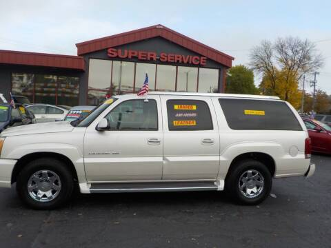 2006 Cadillac Escalade ESV for sale at Super Service Used Cars in Milwaukee WI