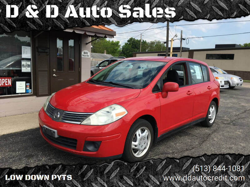 2009 Nissan Versa for sale at D & D Auto Sales in Hamilton OH