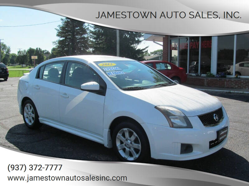 2012 Nissan Sentra for sale at Jamestown Auto Sales, Inc. in Xenia OH