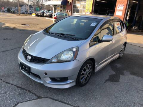 2013 Honda Fit for sale at Barga Motors in Tewksbury MA