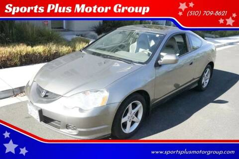 2002 Acura RSX for sale at Sports Plus Motor Group LLC in Sunnyvale CA
