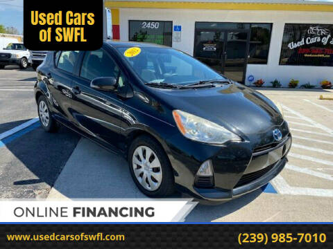 2012 Toyota Prius c for sale at Used Cars of SWFL in Fort Myers FL