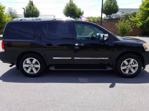 2012 Nissan Armada for sale at Lehigh Valley Autoplex, Inc. in Bethlehem PA