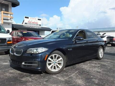 2014 BMW 5 Series for sale at Automotive Credit Union Services in West Palm Beach FL