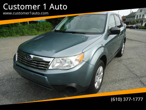 2009 Subaru Forester for sale at Customer 1 Auto in Lehighton PA