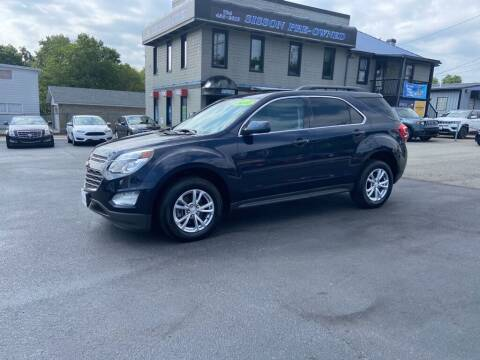 2017 Chevrolet Equinox for sale at Sisson Pre-Owned in Uniontown PA