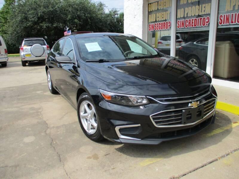2016 Chevrolet Malibu for sale at Metroplex Motors Inc. in Houston TX