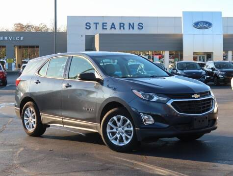 2018 Chevrolet Equinox for sale at Stearns Ford in Burlington NC