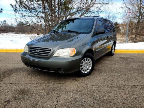 2003 Kia Sedona for sale at Excalibur Auto Sales in Palatine IL