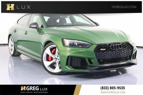 2019 Audi RS 5 for sale at HGREG LUX EXCLUSIVE MOTORCARS in Pompano Beach FL