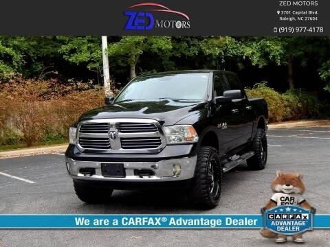 2014 RAM Ram Pickup 1500 for sale at Zed Motors in Raleigh NC