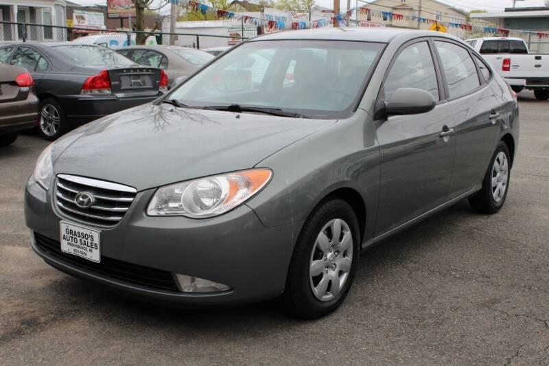 2010 Hyundai Elantra for sale at Grasso's Auto Sales in Providence RI