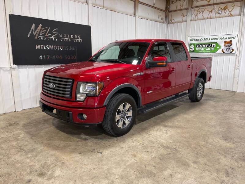 2012 Ford F-150 for sale at Mel's Motors in Nixa MO