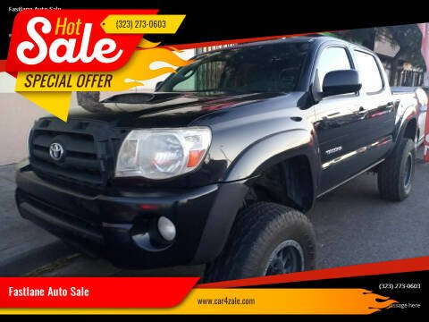 2009 Toyota Tacoma for sale at Fastlane Auto Sale in Los Angeles CA