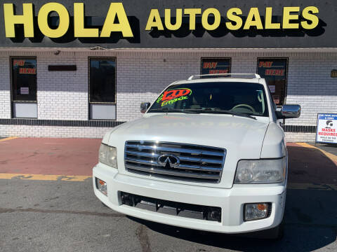 2006 Infiniti QX56 for sale at HOLA AUTO SALES CHAMBLEE- BUY HERE PAY HERE - in Atlanta GA
