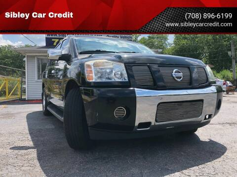 2007 Nissan Armada for sale at Sibley Car Credit in Dolton IL