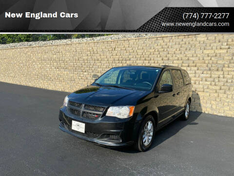 2014 Dodge Grand Caravan for sale at New England Cars in Attleboro MA