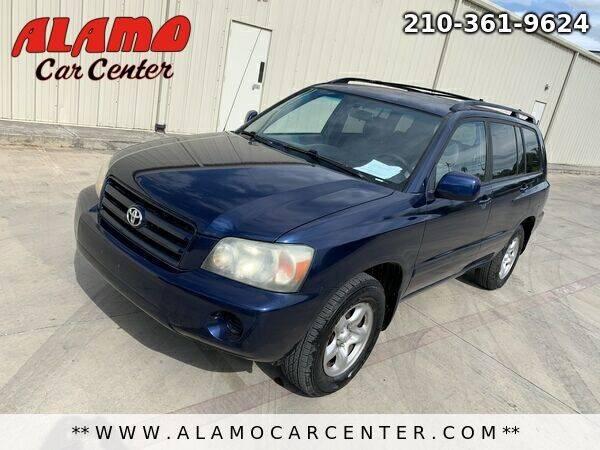 2004 Toyota Highlander for sale at Alamo Car Center in San Antonio TX