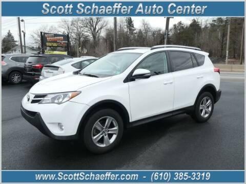 2015 Toyota RAV4 for sale at Scott Schaeffer Auto Center in Birdsboro PA