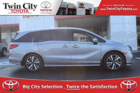 2019 Honda Odyssey for sale at Twin City Toyota in Herculaneum MO