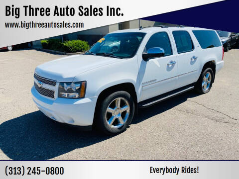 2011 Chevrolet Suburban for sale at Big Three Auto Sales Inc. in Detroit MI