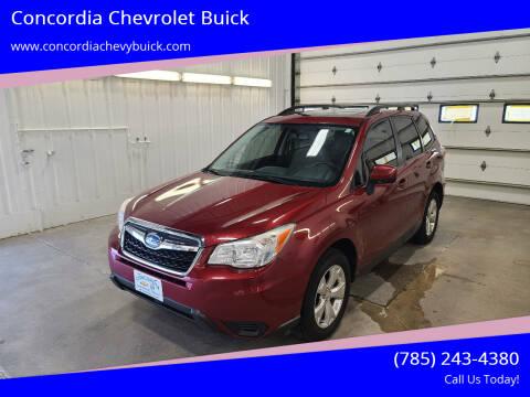 2014 Subaru Forester for sale at Concordia Chevrolet Buick in Concordia KS