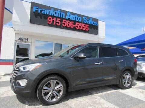 2013 Hyundai Santa Fe for sale at Franklin Auto Sales in El Paso TX