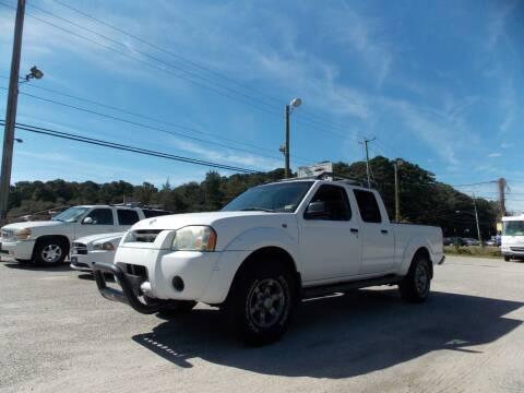 2004 Nissan Frontier for sale at Deer Park Auto Sales Corp in Newport News VA