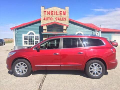 2013 Buick Enclave for sale at THEILEN AUTO SALES in Clear Lake IA